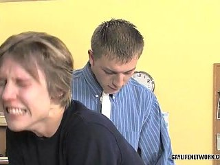 Gay Teacher Pounding His Cute Student