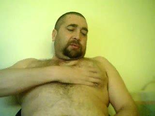 Fat dude amateur solo