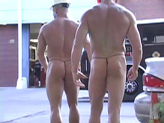 Public Nudity With Body Builders
