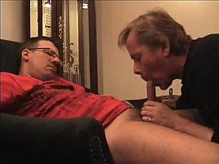 Old friends sucking meeting