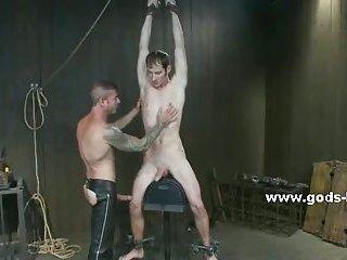 Cruel bdsm spanking for slave gay