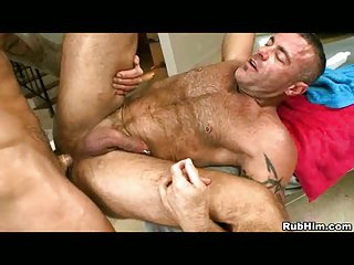 Gay Anal Hardcore after Massage