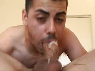 Hard deepthroating till cumming