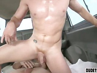 Straight guy is convinced to fuck another dude in the ass