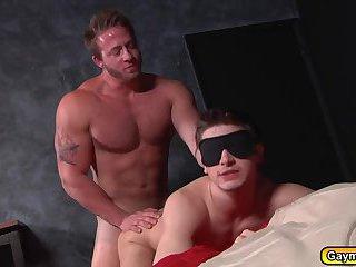 Twink Johnny Rapid suck the cock of Hunk gay Aaron Bruiser
