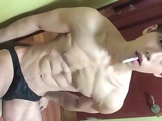 Korean twink jerk off
