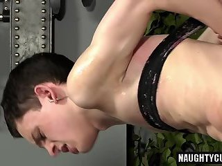 Tattoo son domination and facial