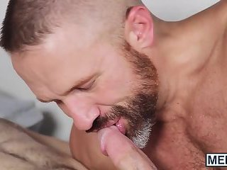 Stepson wakes up daddy from his slumber to ride his pecker