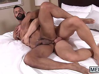 Hans shows his new husband what he can do with him in bed