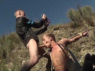 Chris Gets A Chav Cum Load - Chris Jansen & Ashton Bradley