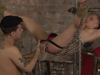 Cute Twink Gets His Hole Stretched & Used! - Chris Jansen & Mickey Taylor