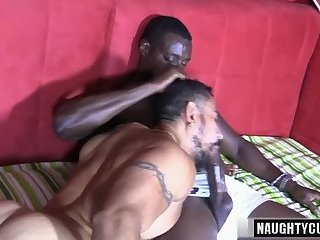 Big dick gay oral sex and facial