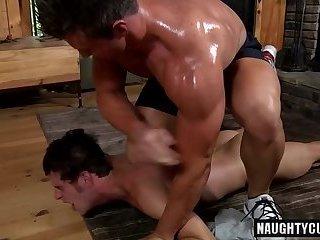 Hot son rough sex with facial