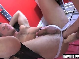 Hot wolf fetish and cumshot
