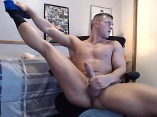 Hot fit fuck gives his fleshlight a nice fucking