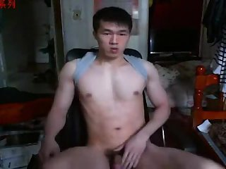 A gracious Chinese Hand Job In webcam