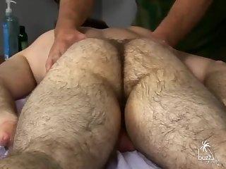 bushy Bear Body And Genital Massage 2