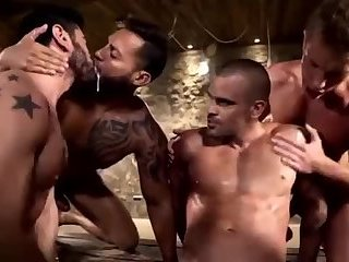 Massibarebacked 144 Bunch of cum guzzling queers