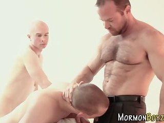 Mormon bishops pound ass