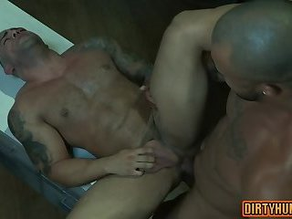 Muscle son anal with cumshot