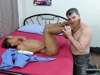 Daddy Fucks Asian Boy Rizal Bareback