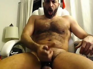 Thick hairy mature scrapper