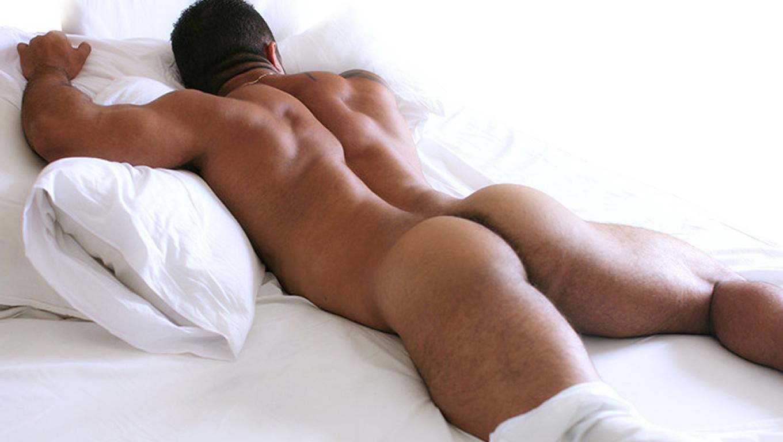 Go to sleep muscle boy