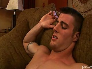 Muscular Guys Couch Hot Coition