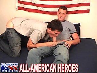 Nude Guys Enjoying Condom Screwing