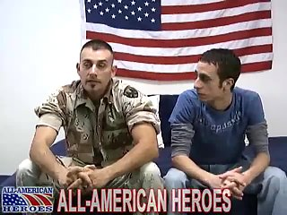 Tattooed Soldier & His Guy Hot Romping