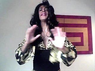 Real pop star singing for pleasure