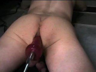Fucking machine brings gay great satisfaction