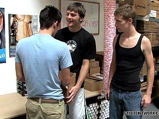 Tattoed Stud Fucks Teen Handsome Gays