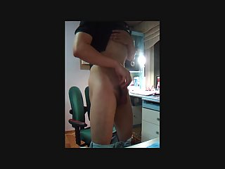 Naughty Buddy Cumming After Wanking