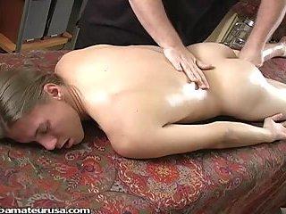 Horny Masseur Fingering Yummy Butt