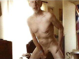 Mature cock playing for bang
