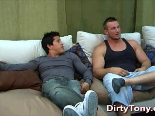 Beefy Guys Amusing With Fuck