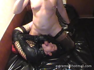 Fetish ass licking & giving head