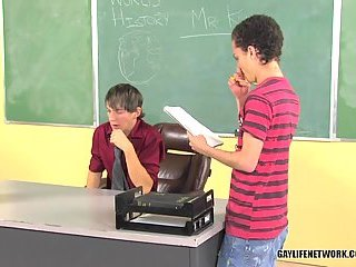 Twinks Gays Fucking In Classroom