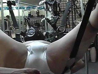 Stunning bondage & rimming