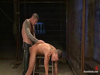 Submissive Dude Pounded Hard