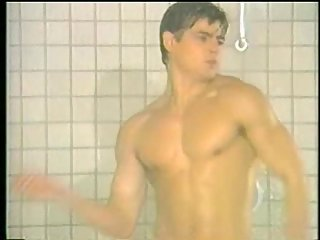 Cute Gay Dancing In The Shower