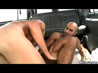 Cool sucking in the car