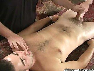 Lustful handjob massage