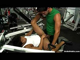 The Gym Fuck - Gay Sex For Money