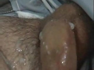 Guy Wanking To Music & Pissing On A Couch