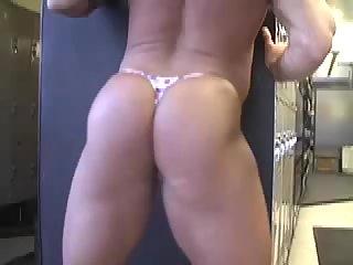 Sexy body builders in strings