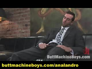 Masturbating Machine in the Office