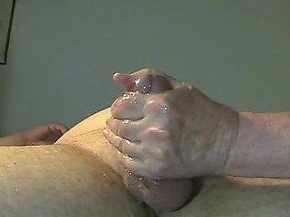 Mature perfect blow & handjob