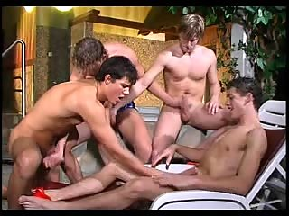 Naked boys orgy